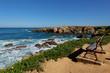 Le littoral à Porto Povo, Sines, Alentejo, Portugal