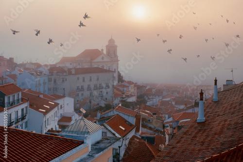 Plexiglas Beige Lisbon viewpoint.