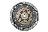 car clutch elements on white background