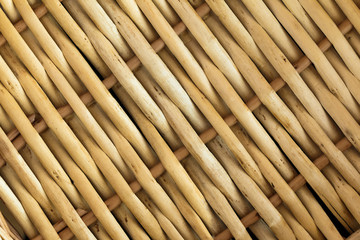 Cover from a bamboo
