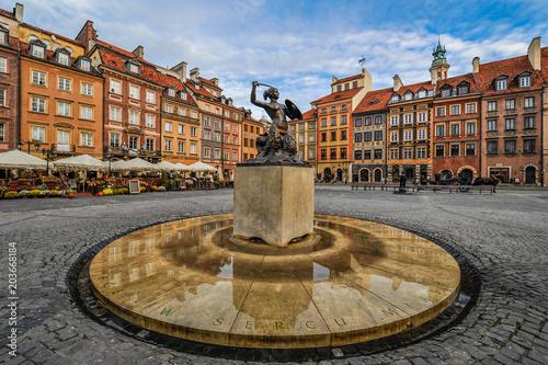 Zdjęcia na płótnie, fototapety na wymiar, obrazy na ścianę : Warsaw, Poland (Capital City)