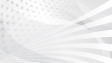 Independence day abstract background with elements of the american flag in gray colors - 203684776
