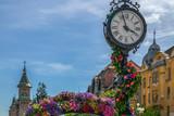Beautiful floral decoration in Timisoara, Romania - 203700304