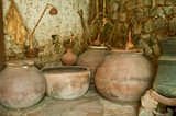 Foini, Cyprus: 04.29.2015; The pottery of Cyprus