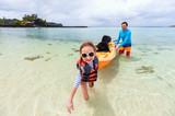 Idyllic beach at Caribbean - 203722534