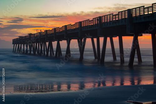 Beach Pier Sunrise