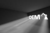 OEM rays volume light concept 3d illustration