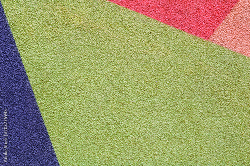 Abstract colorful composition on a wall. - 203775935