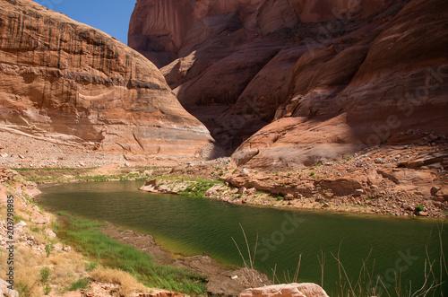 Plexiglas Zalm Lake Powell on the Utah and Arizona Border.