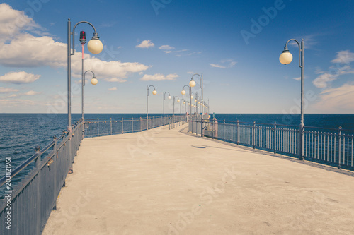Pier at the sea