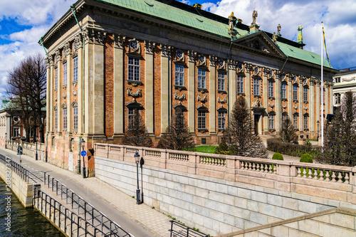 Plexiglas Stockholm Historical building in Stockholm, Sweden