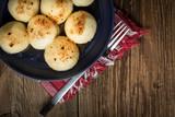 Potato dumplings with meat. - 203830908