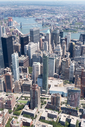 Canvas New York High resolution view of New york city - United states of America