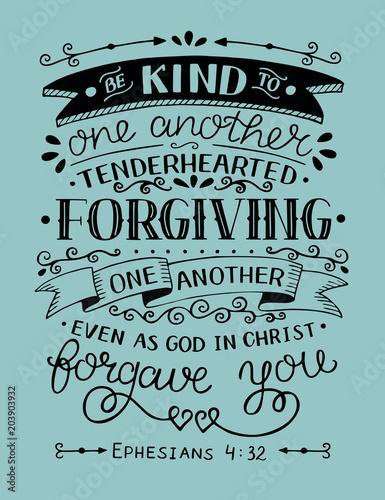 pismo-reczne-z-wersetem-biblijnym-badzcie-dla-siebie-zyczliwi-serdeczni-przebaczajacy-tak-jak-przebaczal-wam-bog-w-chrystusie