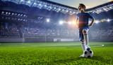 Mały mistrz piłki nożnej. Różne środki przekazu