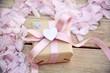 Quadro Grußkarte - Geschenk mit Herz - Muttertag, Geburtstag, Hochzeit