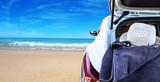 vacaciones de verano en la playa - 203949131