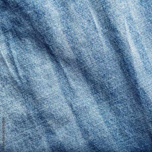 Blue jeans background - 203960764