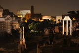 Rome by night. Famous buildings of Rome in one picture. - 203969998