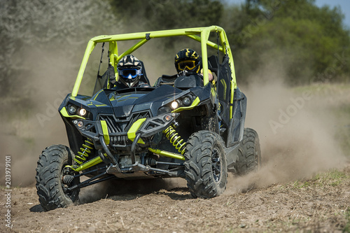 SSV vehicles in the action