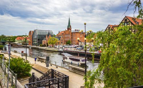 Zdjęcia na płótnie, fototapety na wymiar, obrazy na ścianę : Old town in Bydgoszcz. Poland