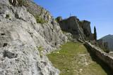 Part of Klis fortress near Split, Croatia - 203980507