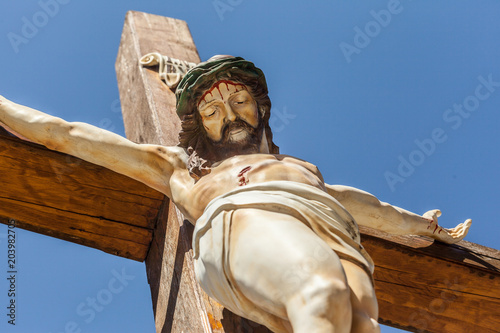crucifixion of Jesus Christ - 203982705