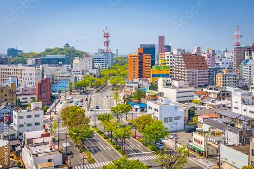 Wakayama City, Japan Skyline
