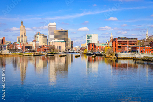 Providence, Rhode Island Skyline