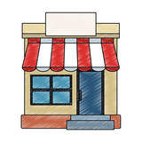 Shop store symbol vector illustration graphic design - 203994715