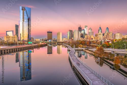 Philadelphia, Pennsylvania, USA Skyline