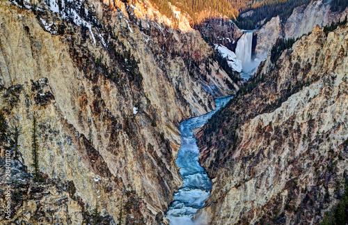 Artists Point Yellowstone