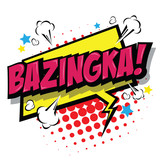 Bazinga! Comic Speech Bubble