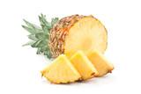 Pineapple tropical fruit closeup - 204032749