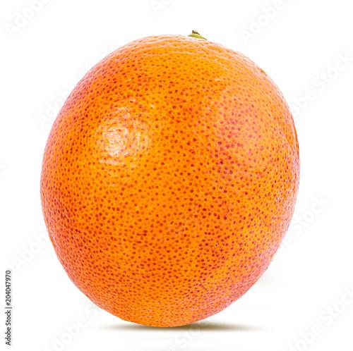 Dojrzała pomarańcze odizolowywająca na białym tle