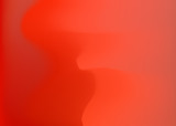 Soft and smooth lines minimalist concept red & orange color tone background. - 204061328