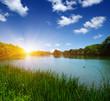 Quadro Lake water and sun