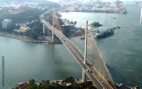 Plexiglas Bruggen Ha Long bridge