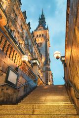 Town Hall of Hamburg, Germany © tichr
