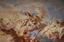 """Постер, картина, фотообои """"Fresque religieuse du Palais Kinský à Vienne"""""""