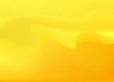 Soft and smooth lines minimalist concept yellow background. - 204096391