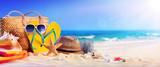 Beach Accessories On Seashore - Summer Holidays  - 204101146