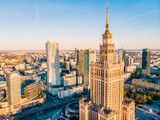 Warszawa z lotu ptaka - 204104910