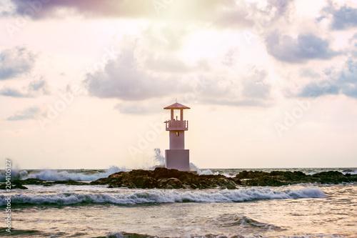 Fotobehang Vuurtoren lighthouse