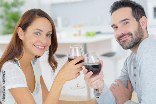 Poster first drink together