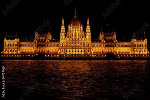 Canvas Boedapest parlament