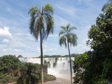 Iguazu Water Falls at the border of Brasil and Argentina