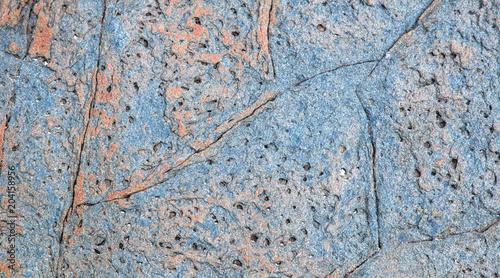 Canvas Stenen Textura de rocha