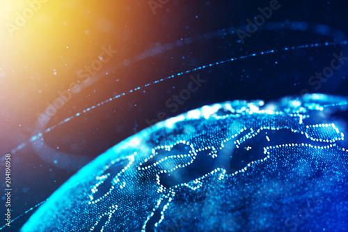 Globalna koncepcja biznesu i komunikacji