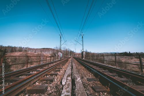 Plexiglas Spoorlijn Tory